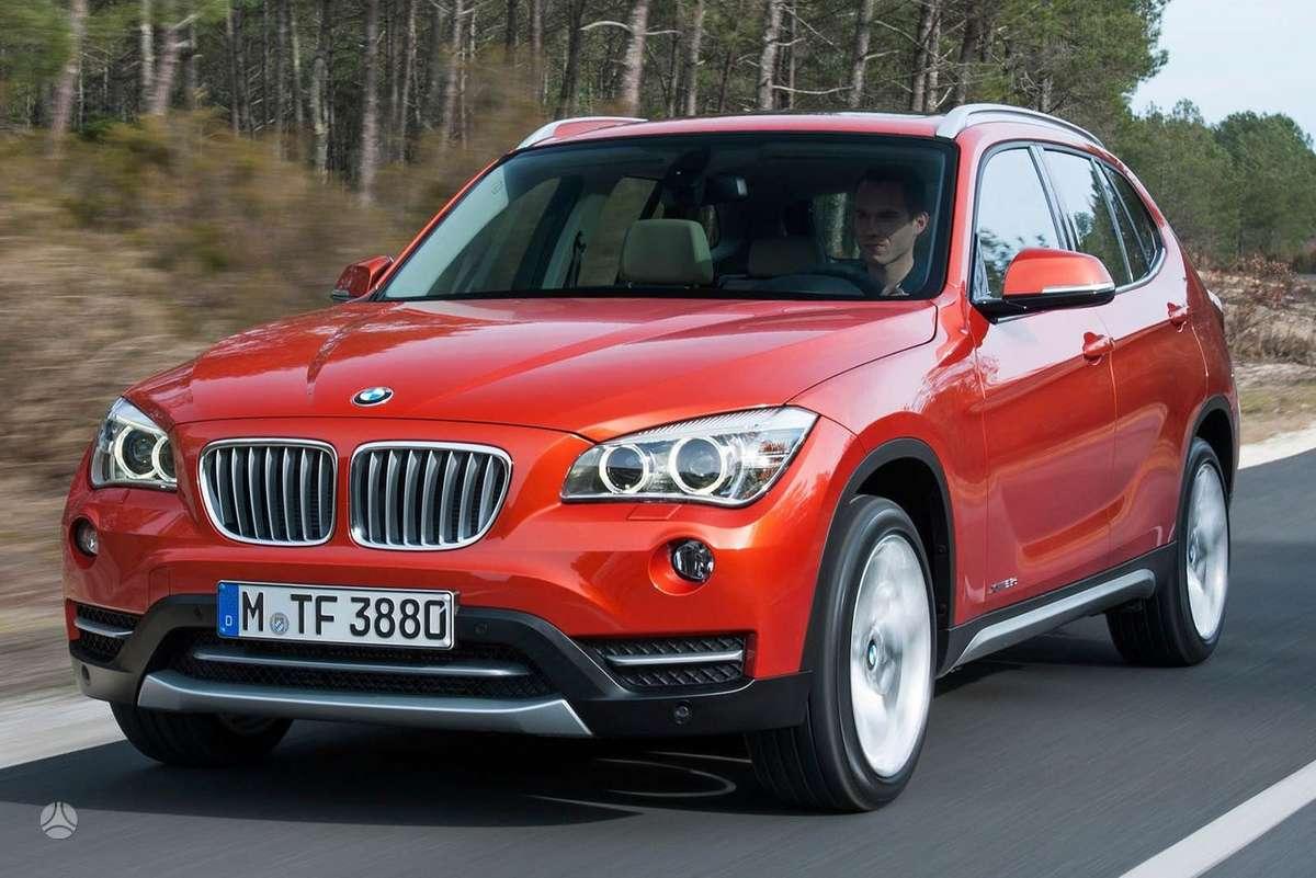 BMW X1. Naujų orginalių detalių užsakymas prieinamiausiomis