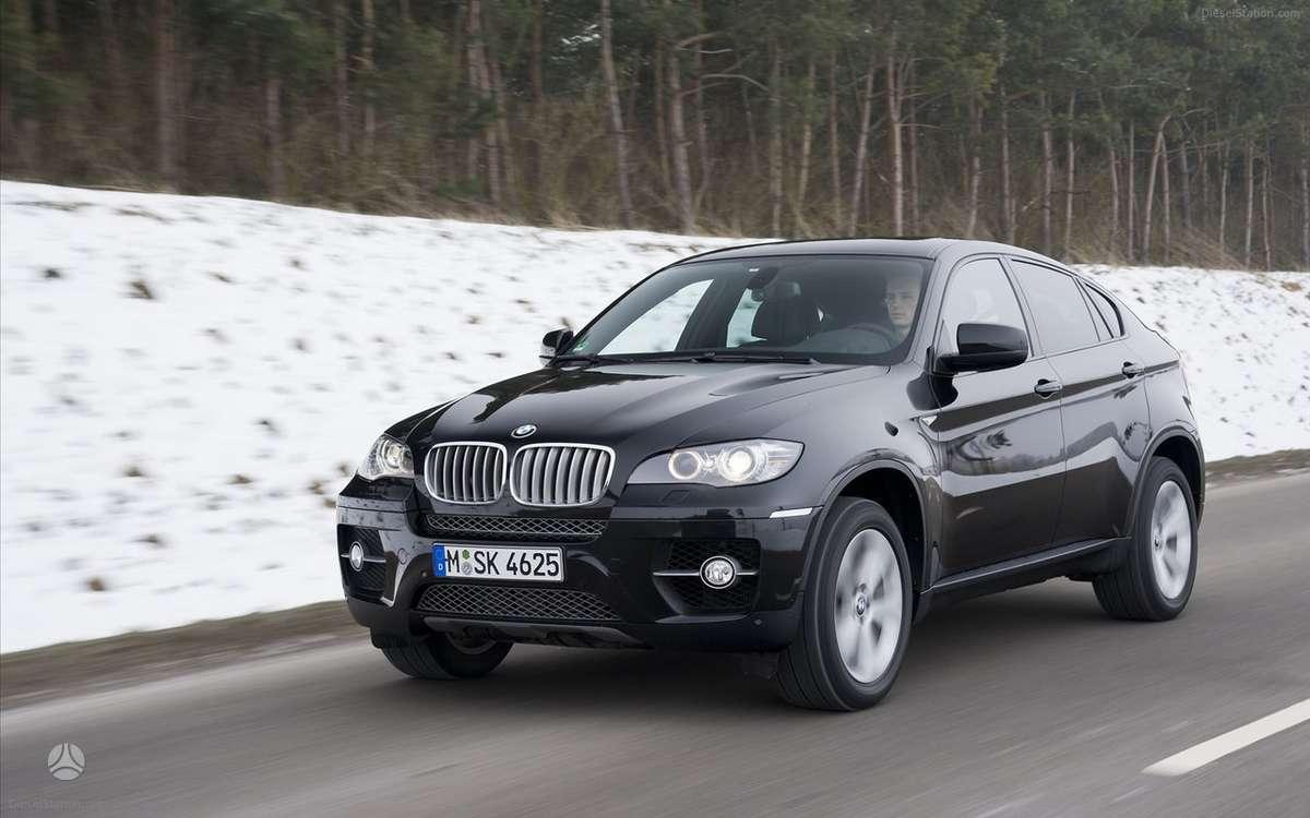 BMW X6. Naujų orginalių detalių užsakymas prieinamiausiomis