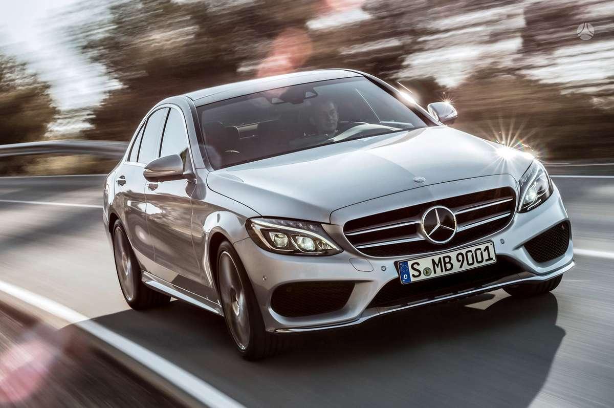 Mercedes-Benz C klasė. Naujų orginalių detalių užsakymas