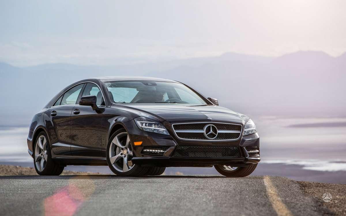 Mercedes-Benz CLS klasė. Naujų orginalių detalių užsakymas