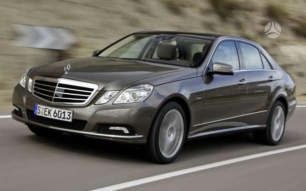 Mercedes-Benz E klasė. Naujų orginalių detalių užsakymas