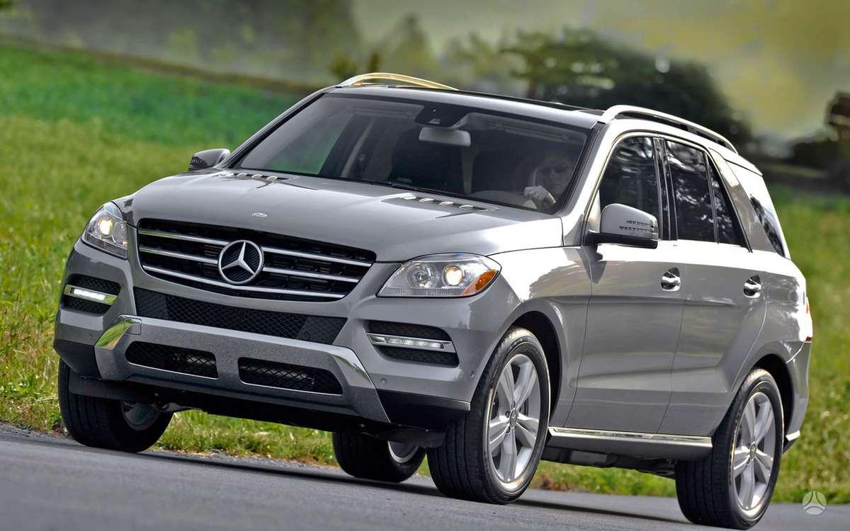Mercedes-Benz ML klasė. Naujų orginalių detalių užsakymas