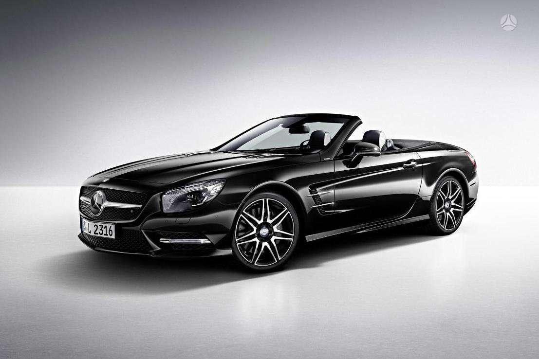 Mercedes-Benz SL klasė. Naujų orginalių detalių užsakymas