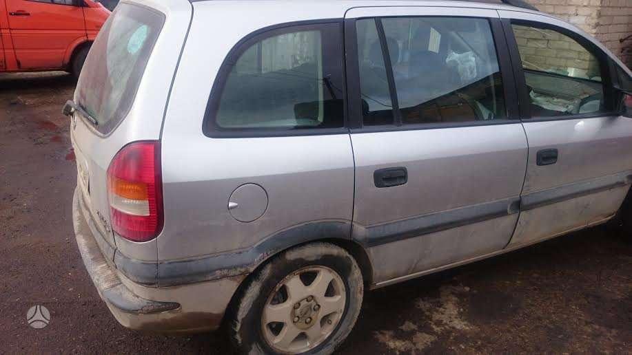 Opel Zafira. Tel; 8-633 65075 detales pristatome beveik visoje