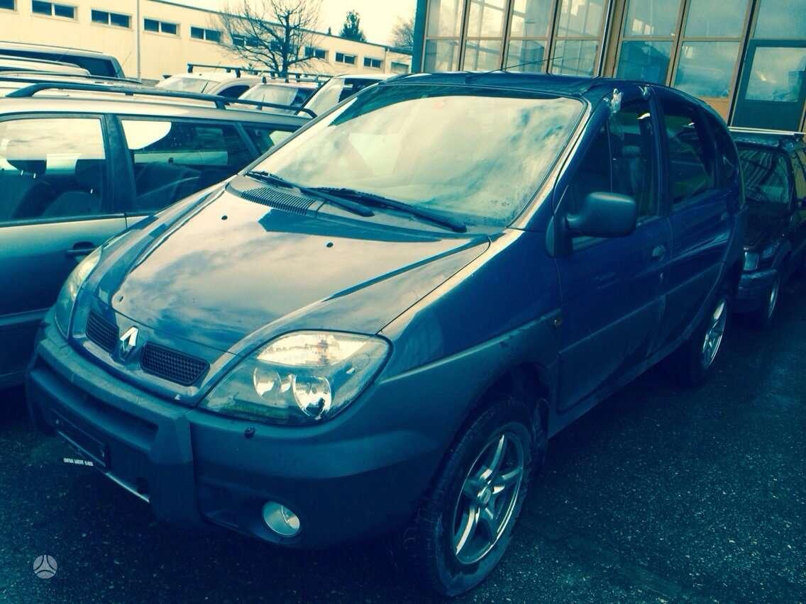 Renault Scenic. Rx  2.0 16v  4/4 iš šveicarijos... (торговля зап.