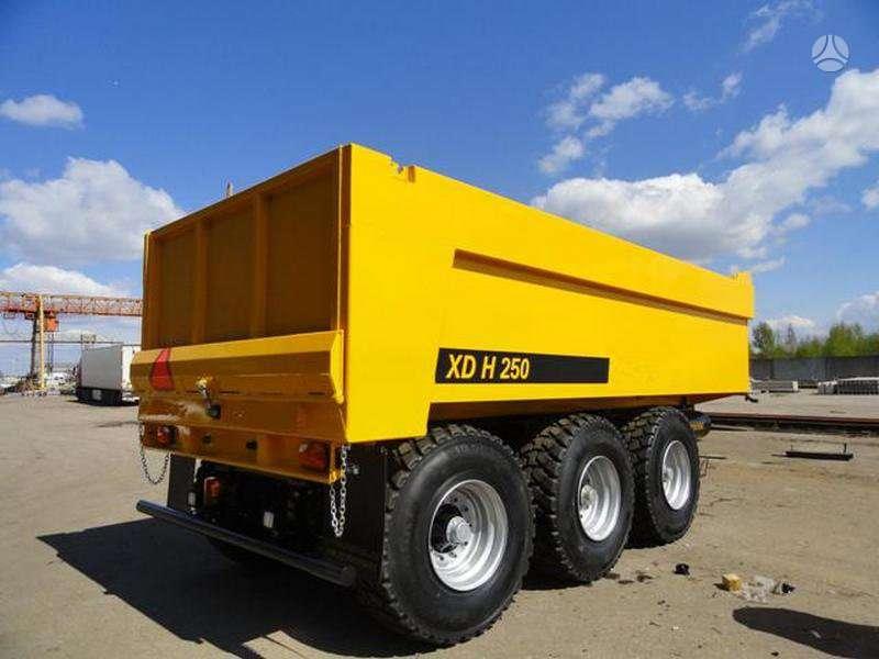 UGB Sunkių krovinių pervežimo puspriekabės, traktorinės priekabos