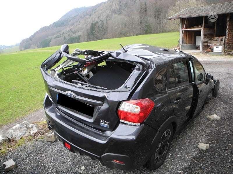 Subaru XV. Rida 1000 km is vokietijos,gryzusi,variklis neduzes,