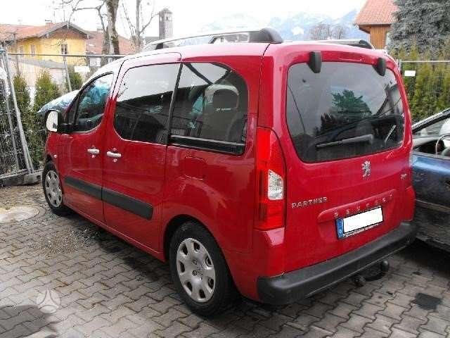 Peugeot Partner. Is vokietijos
