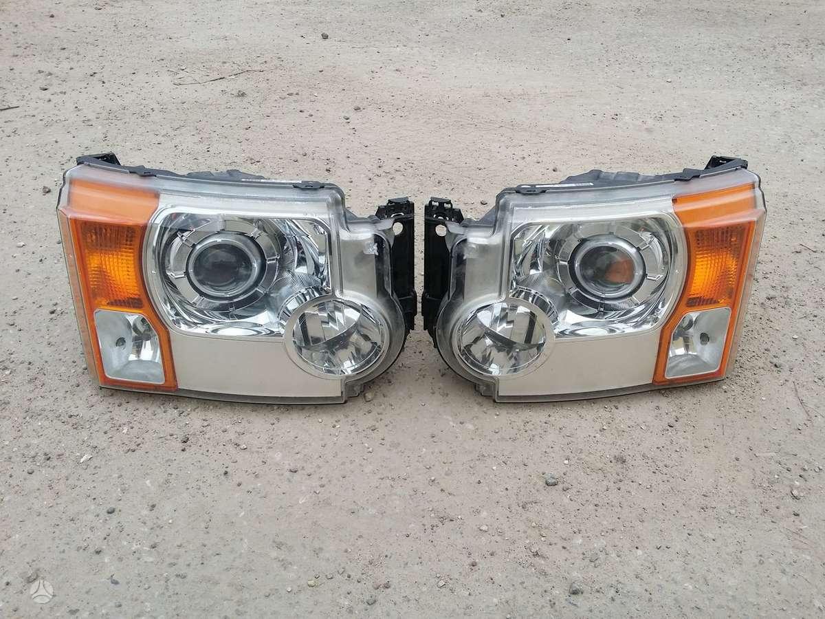 Land Rover Discovery žibintai