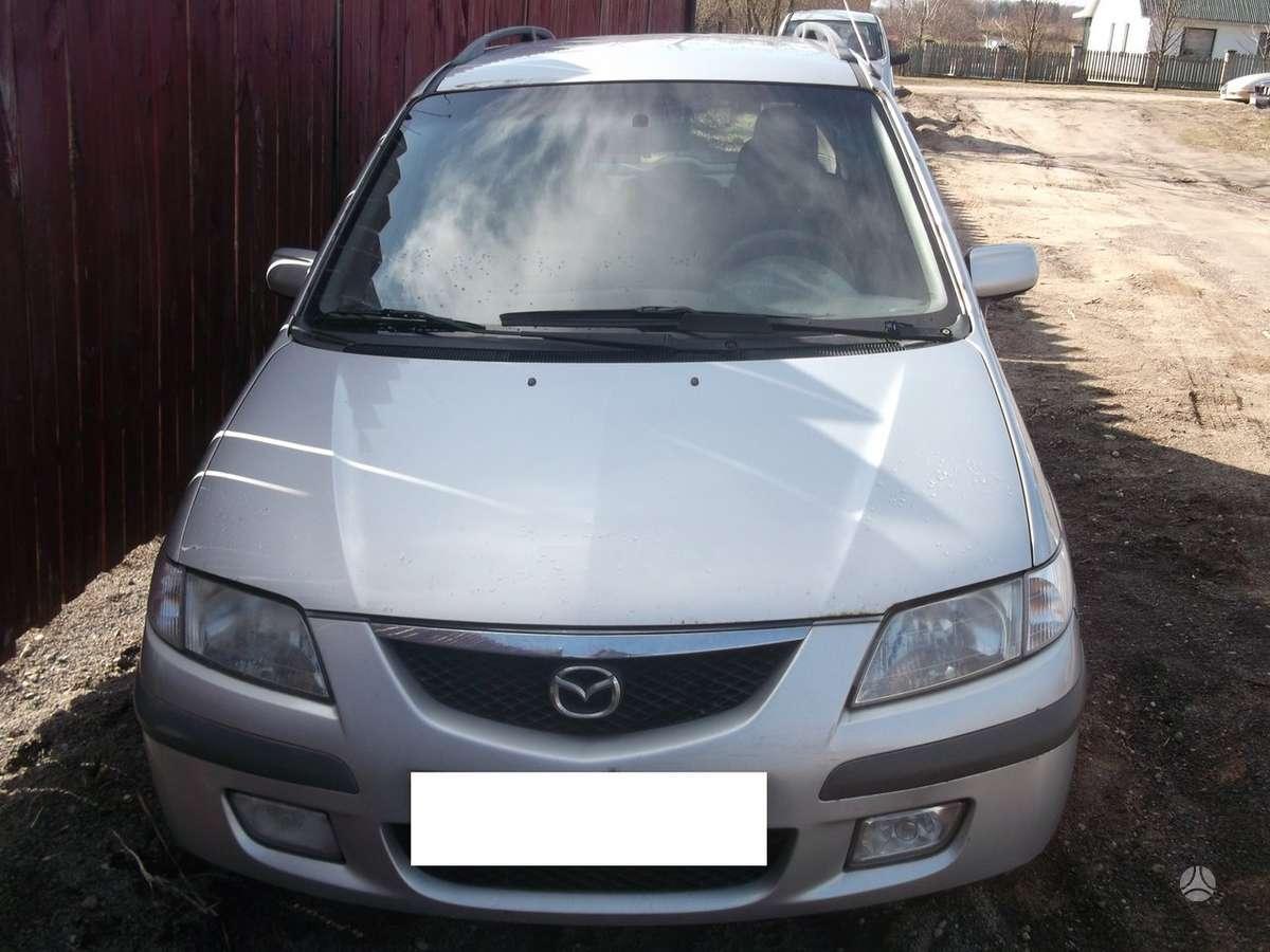Mazda Premacy. Mazda premacy 2001m. 2.0d 74kw, , dalimis, ,