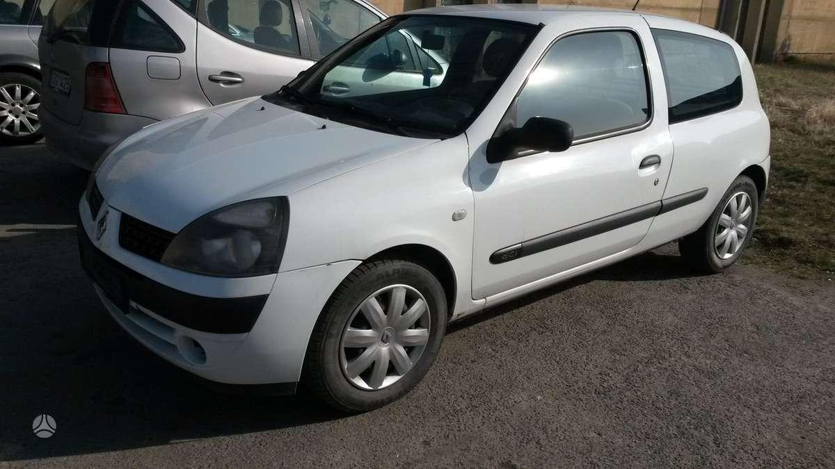 Renault Clio.  variklis k9 ka 704