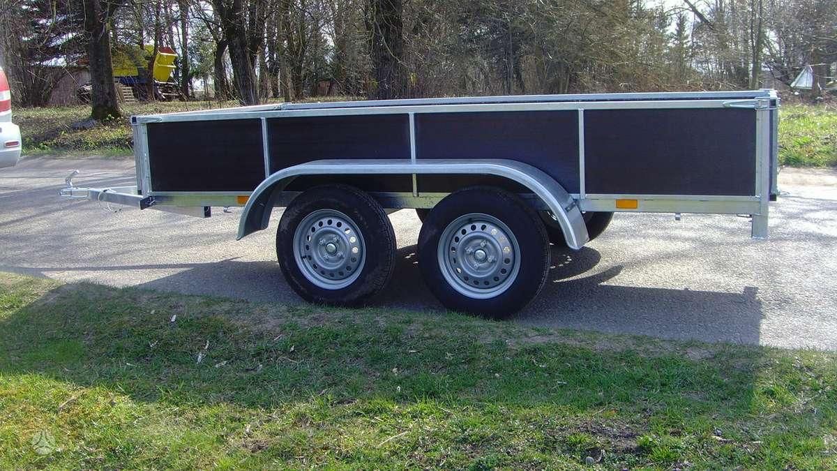 Baltic trailer B2K-2500x2, lengvųjų automobilių priekabos