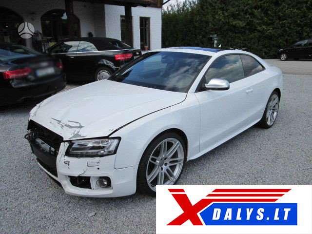 Audi S5 dalimis. Www.xdalys.lt  bene didžiausia naudotų ir