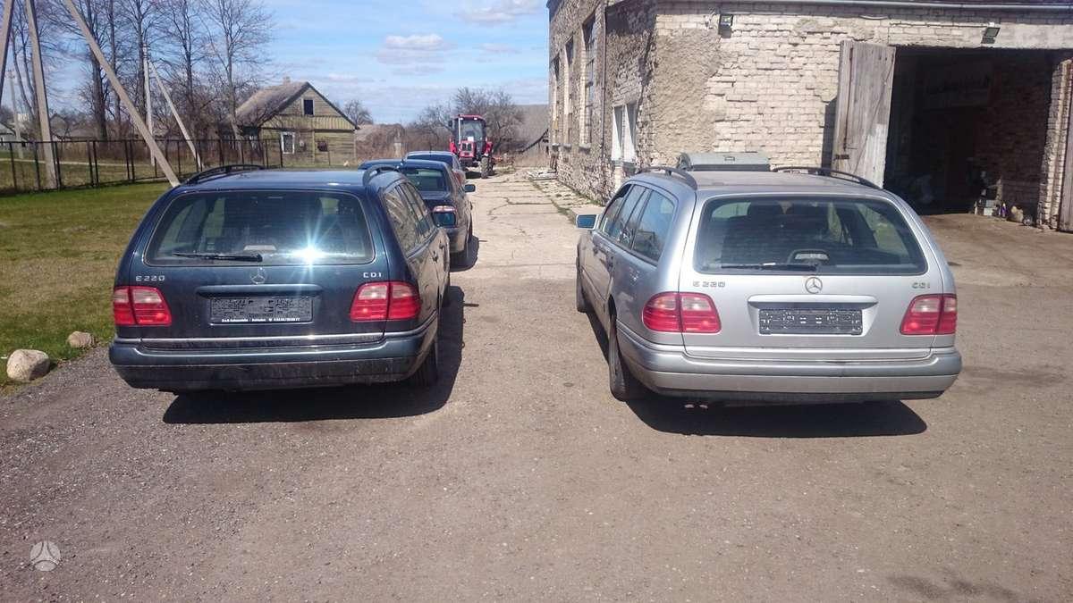 Mercedes-Benz E klasė. Cdi tel; 8-633 65075 detales pristatome