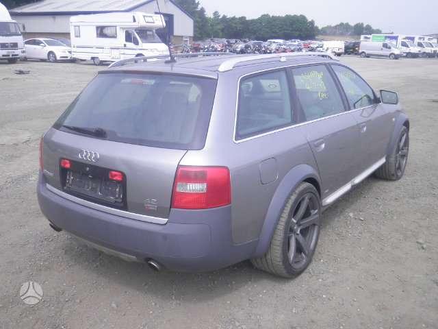 Audi A6 ALLROAD dalimis. Audi a6 allroad (c5), 2003 m., 4.2,