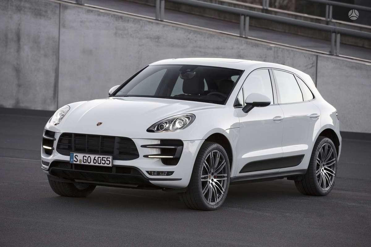 Porsche Macan dalimis. !!!! naujos originalios dalys !!!! !!! но