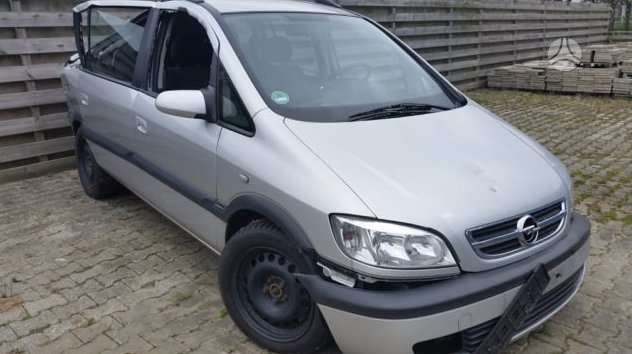 Opel Zafira. Europa.sveiki airbag.rida 150000km.detales