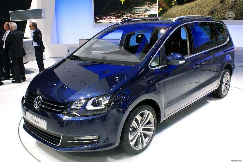 Volkswagen Sharan. Naujų orginalių detalių užsakymas