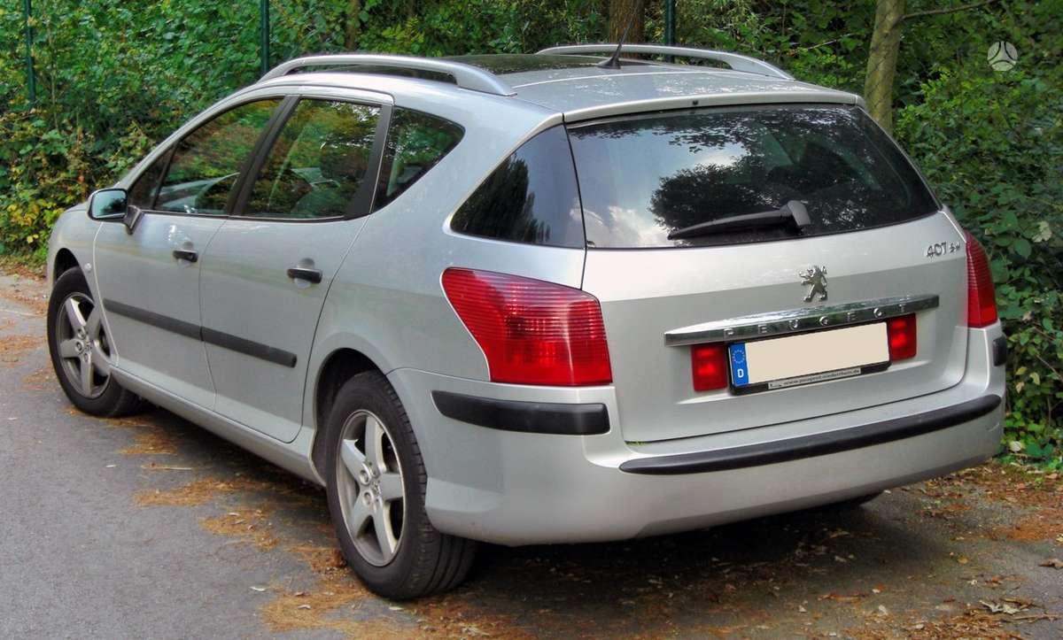 Peugeot 407 dalimis
