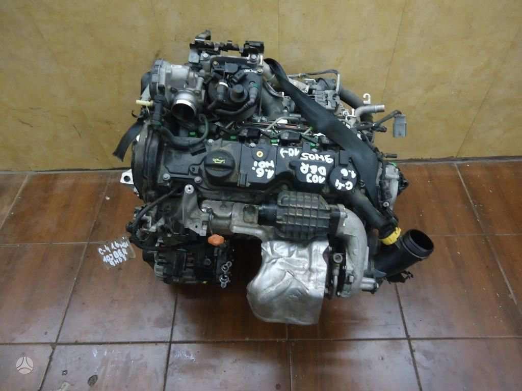 Peugeot 5008 variklio detalės