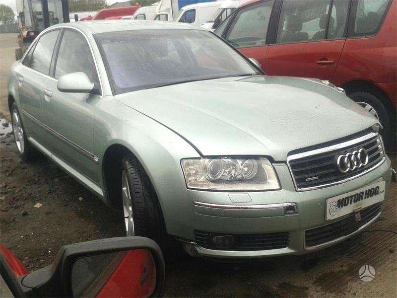 Audi A8 dalimis. Audi a8 4,0l tdi is anglijos dalimis alkantare