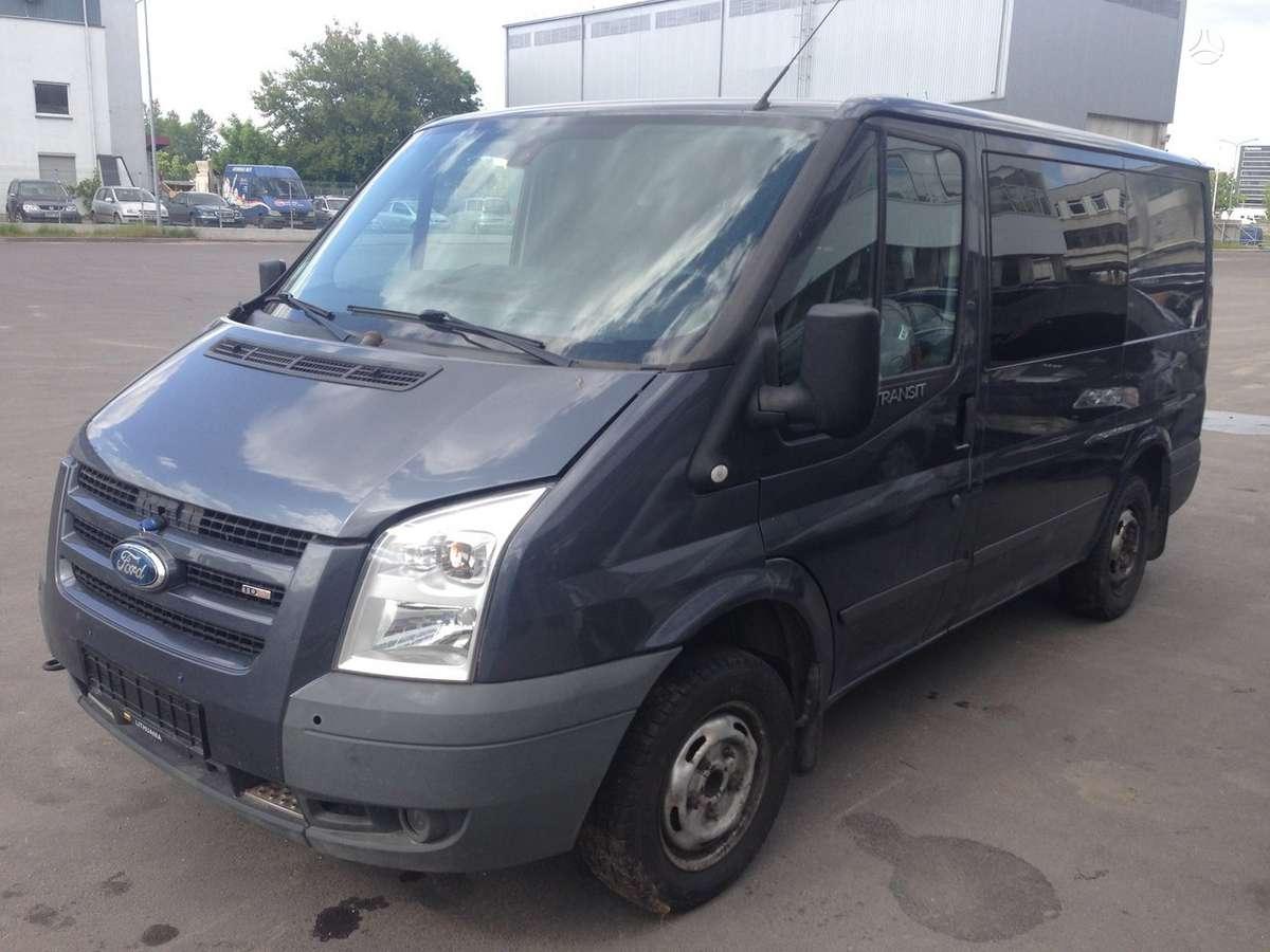 Ford Tranzit 2.2CDI, krovininiai mikroautobusai