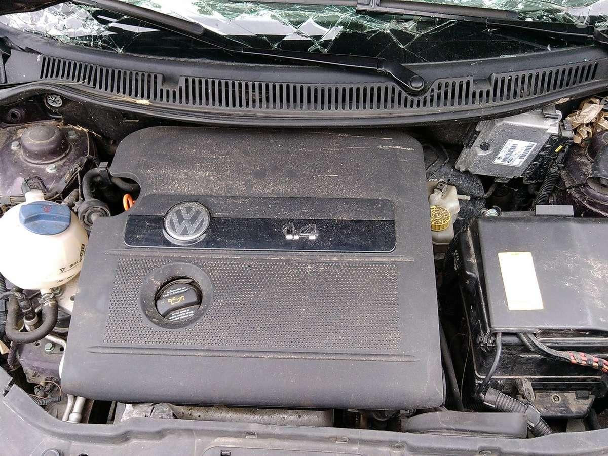 Volkswagen Polo dalimis. Rida tik 55600 km variklis bby