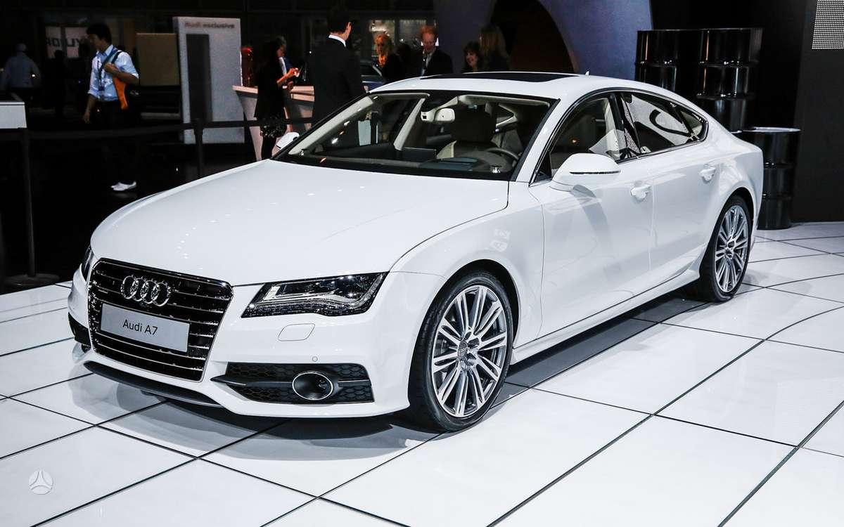 Audi A7 SPORTBACK. !!!! naujos originalios dalys !!!! !!! новые