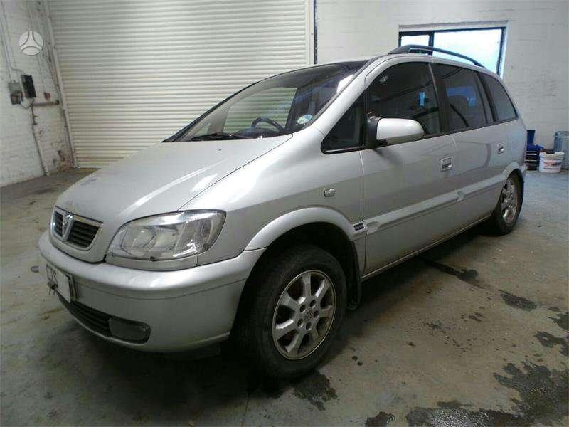 Opel Zafira. Dar yra 1,8 apd; 2,2iapd ; 1,6 ecotec. uab augenera,