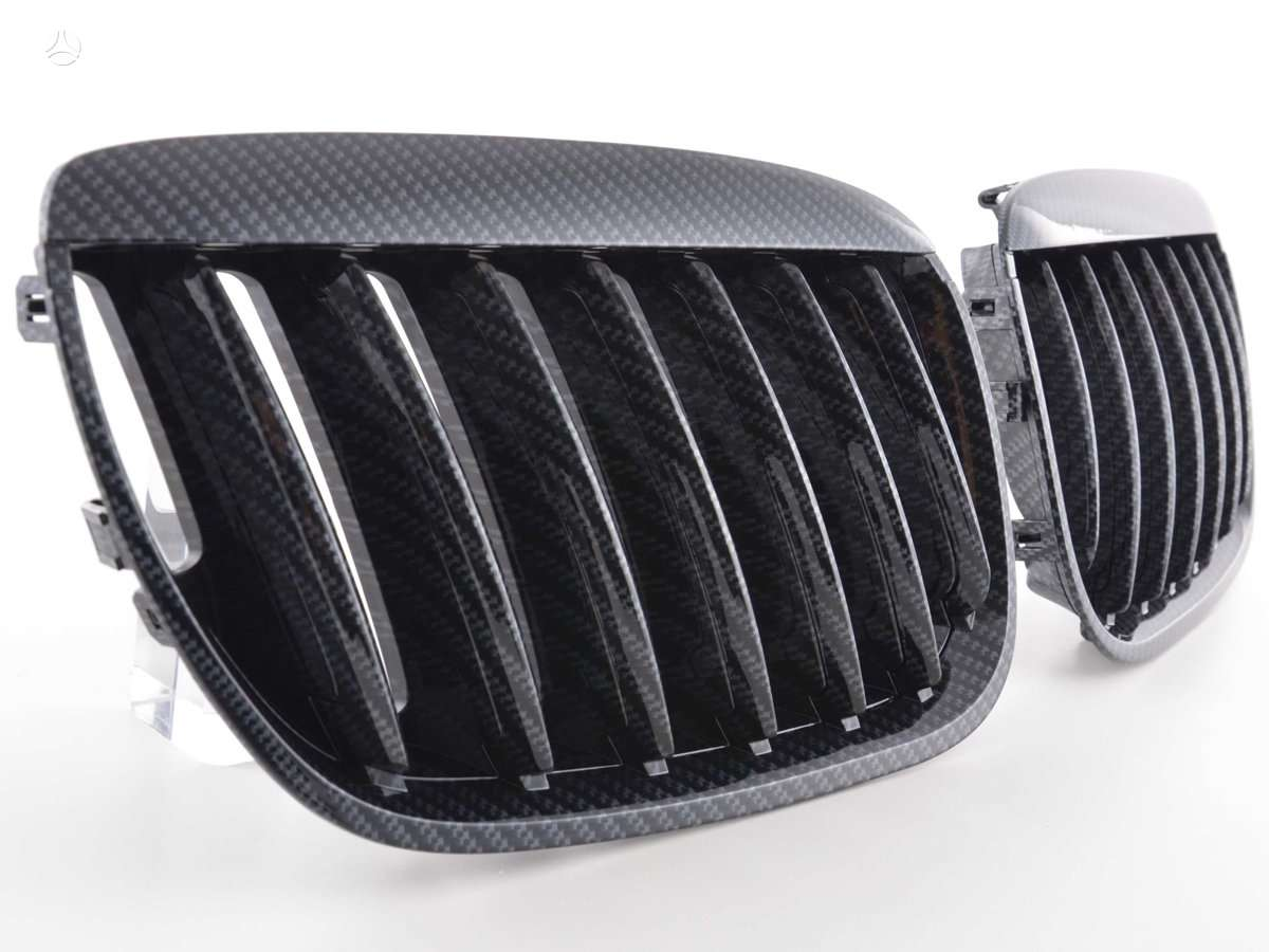 BMW X5. Tuning dalys. groteles 04-06m- juodos ;chrom; chrom-