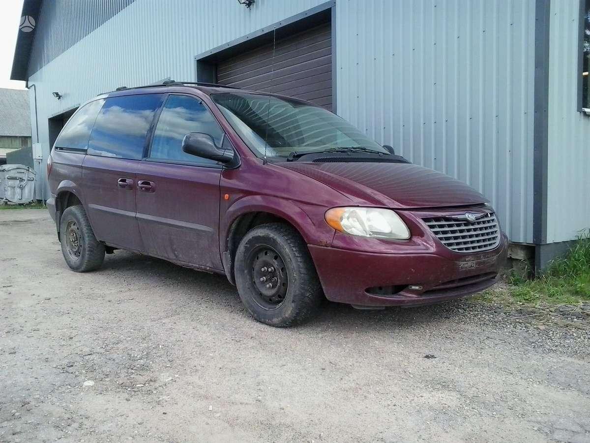 Chrysler Grand Voyager dalimis