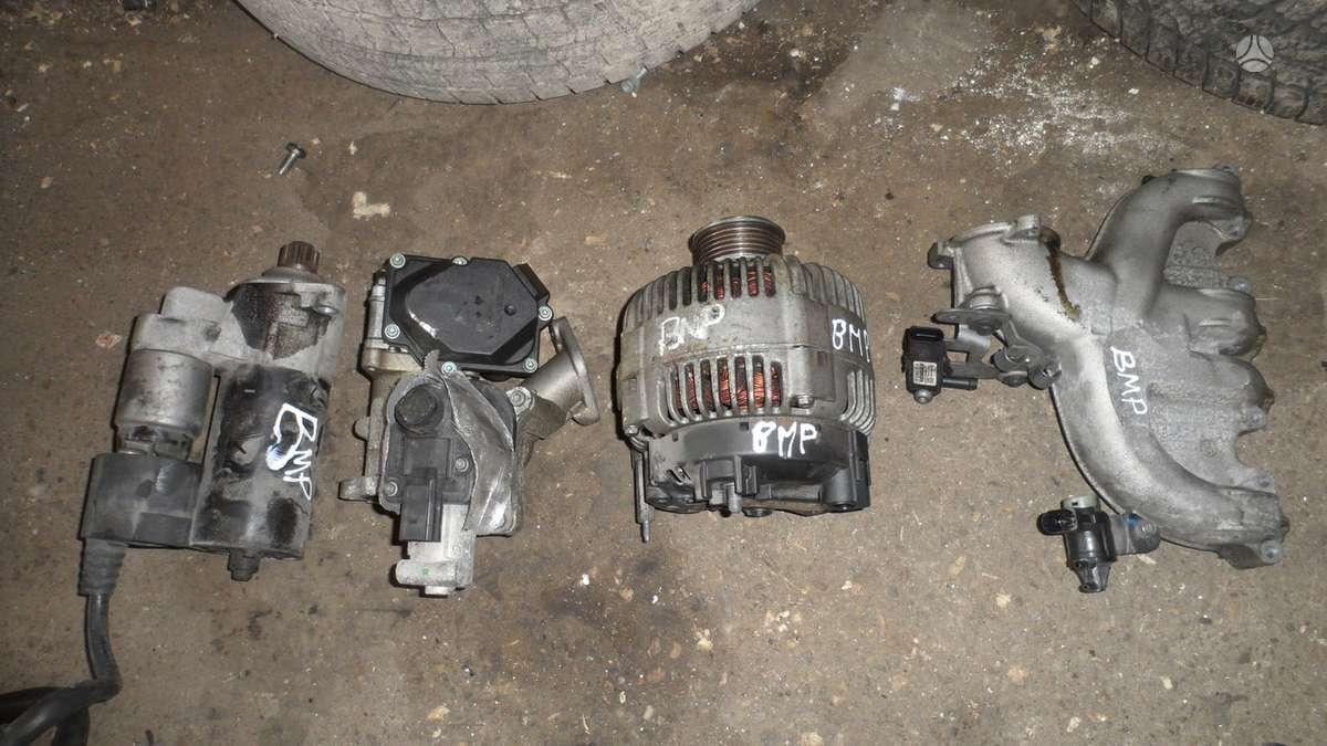 Volkswagen Passat. Dalys nuo variklio.variklio kodai bmp  bmm
