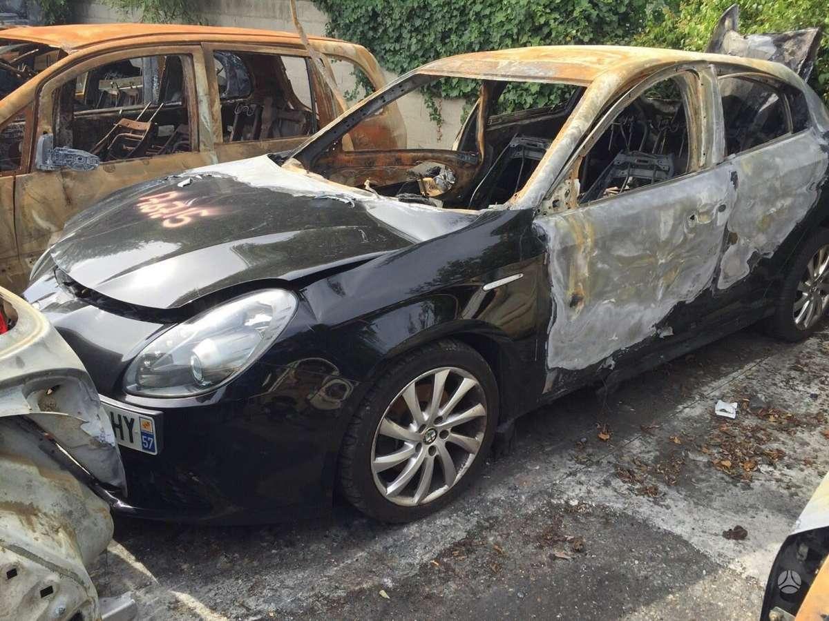 Alfa Romeo Giulietta. Variklis parduotas