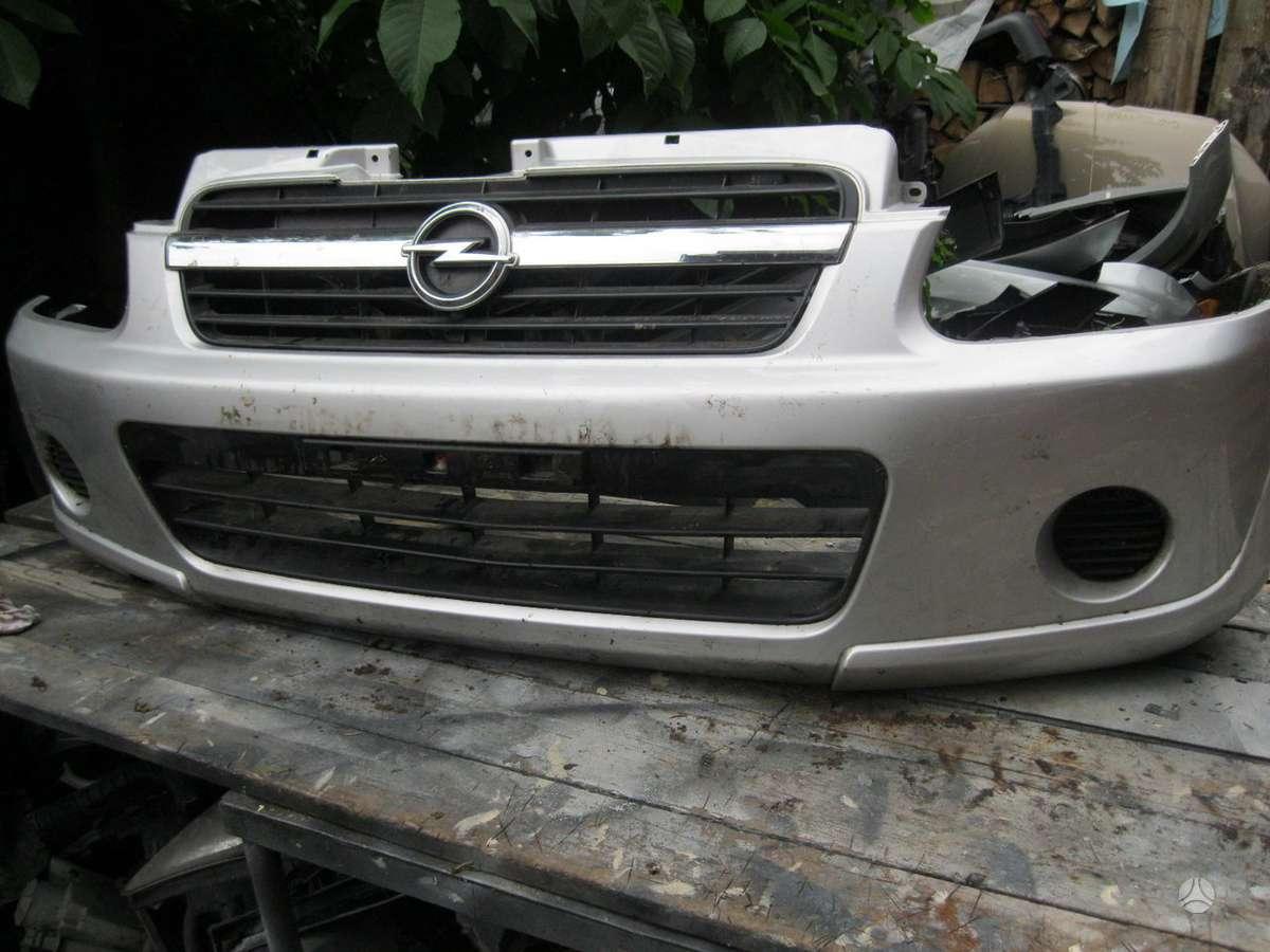 Opel Agila. Sparnas   --- buferis