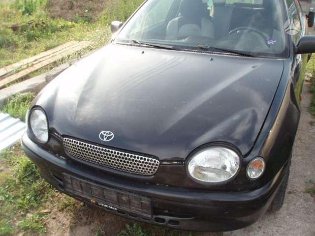 Toyota Corolla dalimis. Dalimis toyota corolla: 1.3, 1.6, 2.0d,