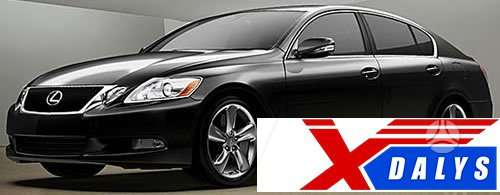 Lexus GS klasė dalimis. Xdalys.lt  bene didžiausia naudotų ir