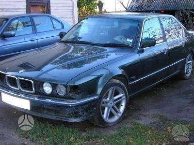 BMW 7 serija. Bmw e32: 730, 735, 740il, 750 1990-1994m. dalimis