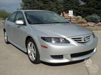Mazda 6 dalimis. 2.0l , 2.3l , 3.0l usa bei euro ,  sport ir