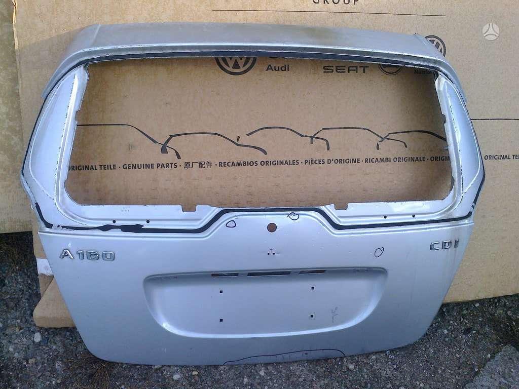 Mercedes-Benz A klasė dangtis (priekinis, galinis), veidrodėliai