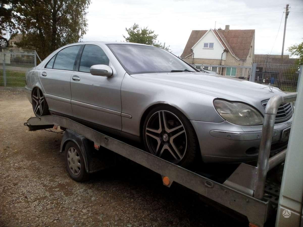 Mercedes-Benz S klasė dalimis. 4,0 dyzel.....longas....visi