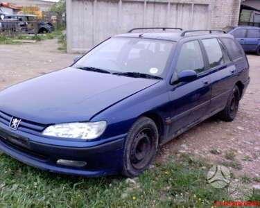 Peugeot 406. Variklis 2.1 td , yra ir 2.0,16v;2.0; 1.8; 2.0hdi