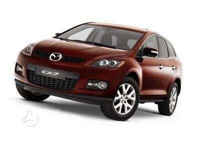 Mazda CX-7. Naudotos ir naujos japoniškų ir korėjietiškų