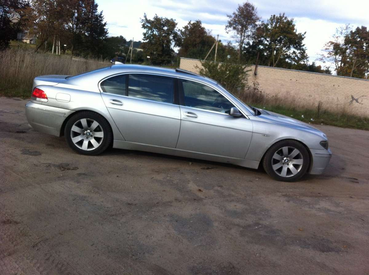 BMW 7 serija dalimis. Turiu ardymui daug kitu bmw modeliu, nuo