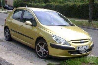 Peugeot 307. Autodalys taip pat perkame automobilius ardymui
