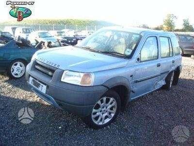 Land Rover Freelander. Vairas dešinėje  darbo laikas: i-v 9: