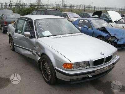 BMW 735. Bmw 728 (1999m. automatinė pavarų dėžė, odinis salonas,