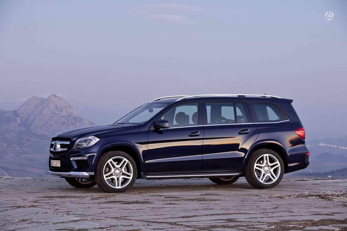 Mercedes-Benz GL450 dalimis. !!!! naujos originalios dalys !!!!