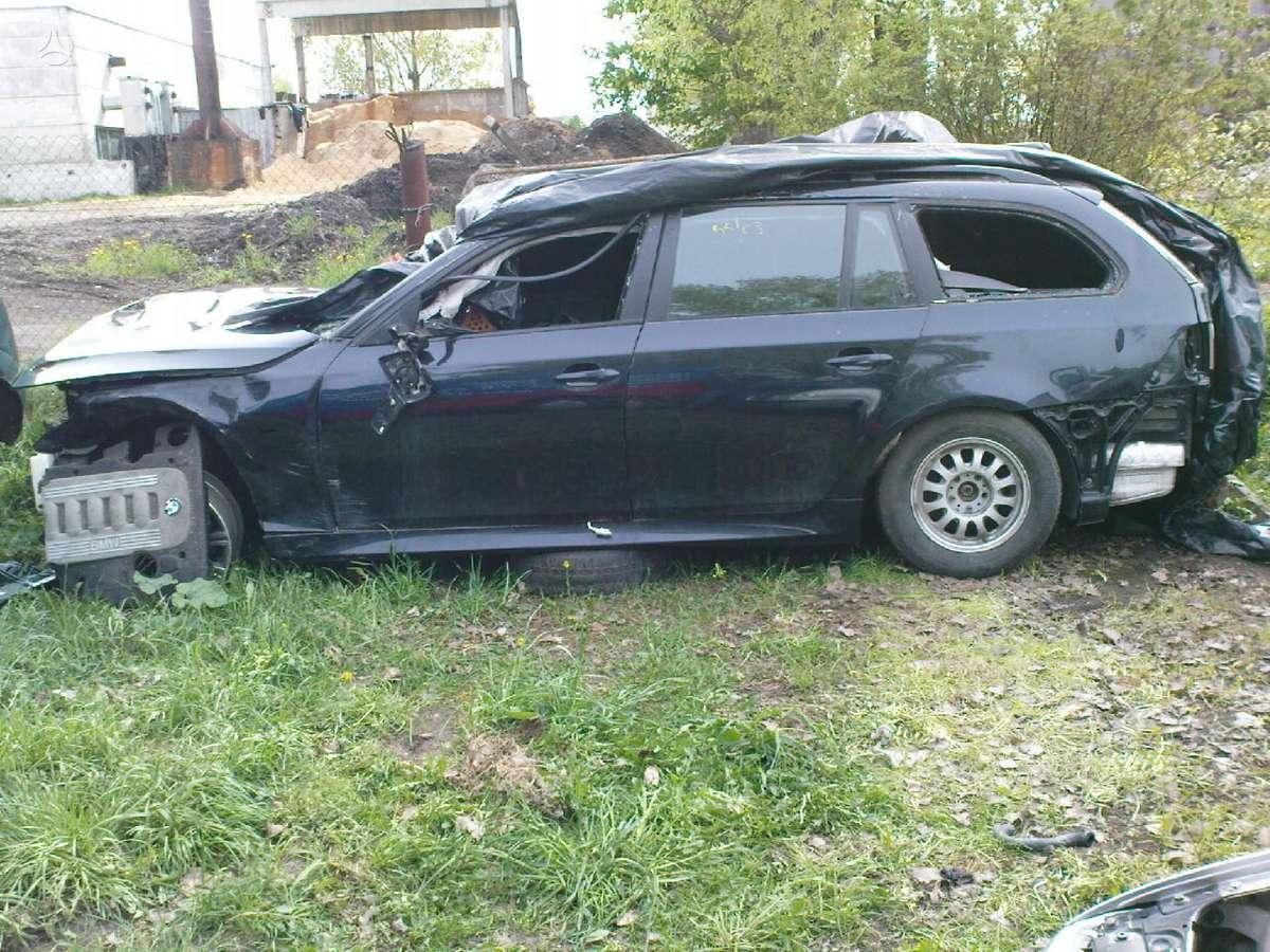 BMW 5 serija dalimis. Iš prancūzijos. esant galimybei,