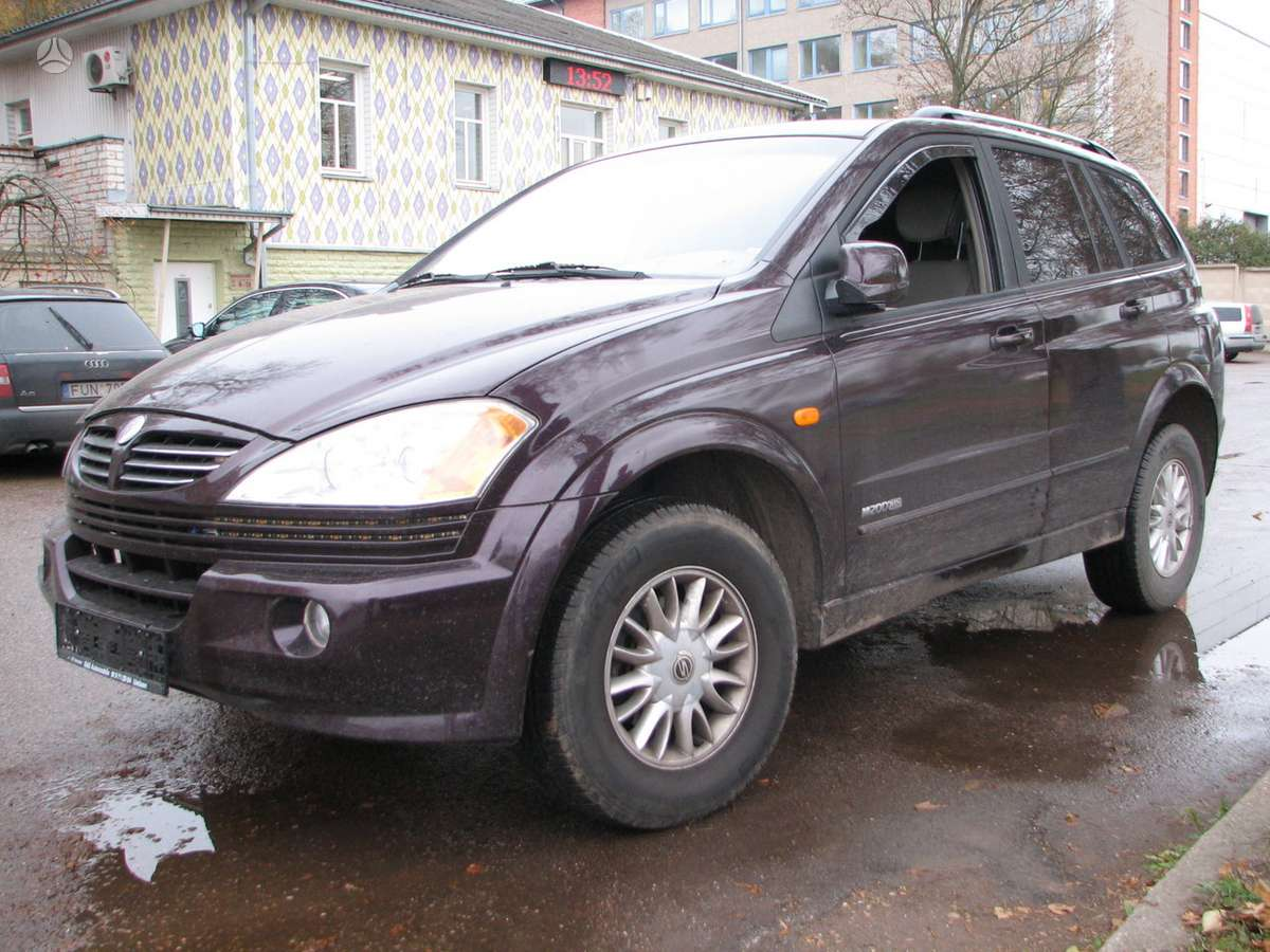 SsangYong Kyron. 2wd 2wd 2wd