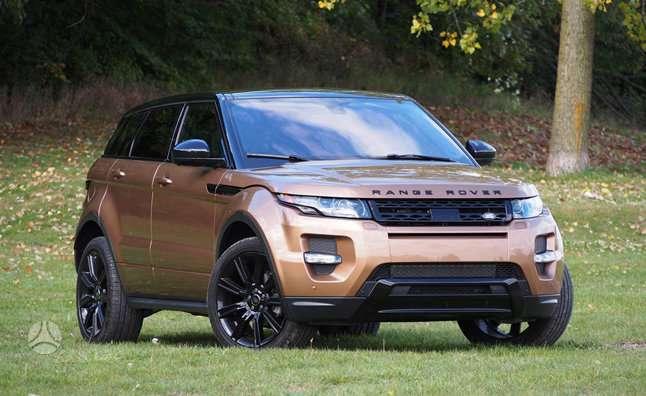 Land Rover Evoque dalimis. !!!! naujos originalios dalys !!!! !!